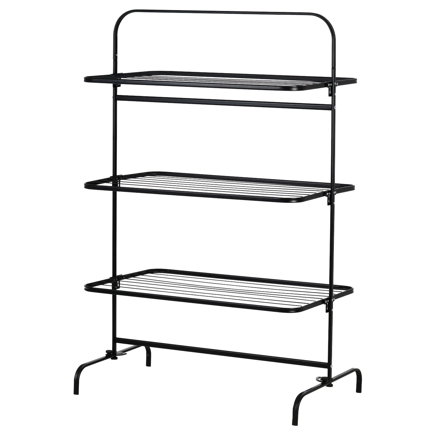 IKEA MULIG drying rack 3 levels, in/outdoor Suitable for both indoor and outdoor use.