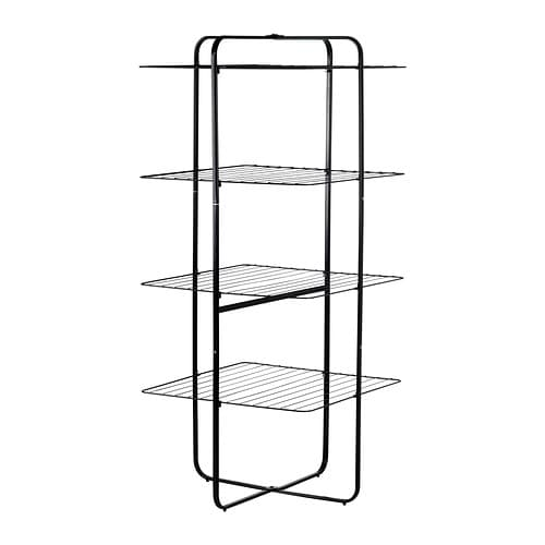 IKEA MULIG drying rack 4 levels, in/outdoor Suitable for both indoor and outdoor use.