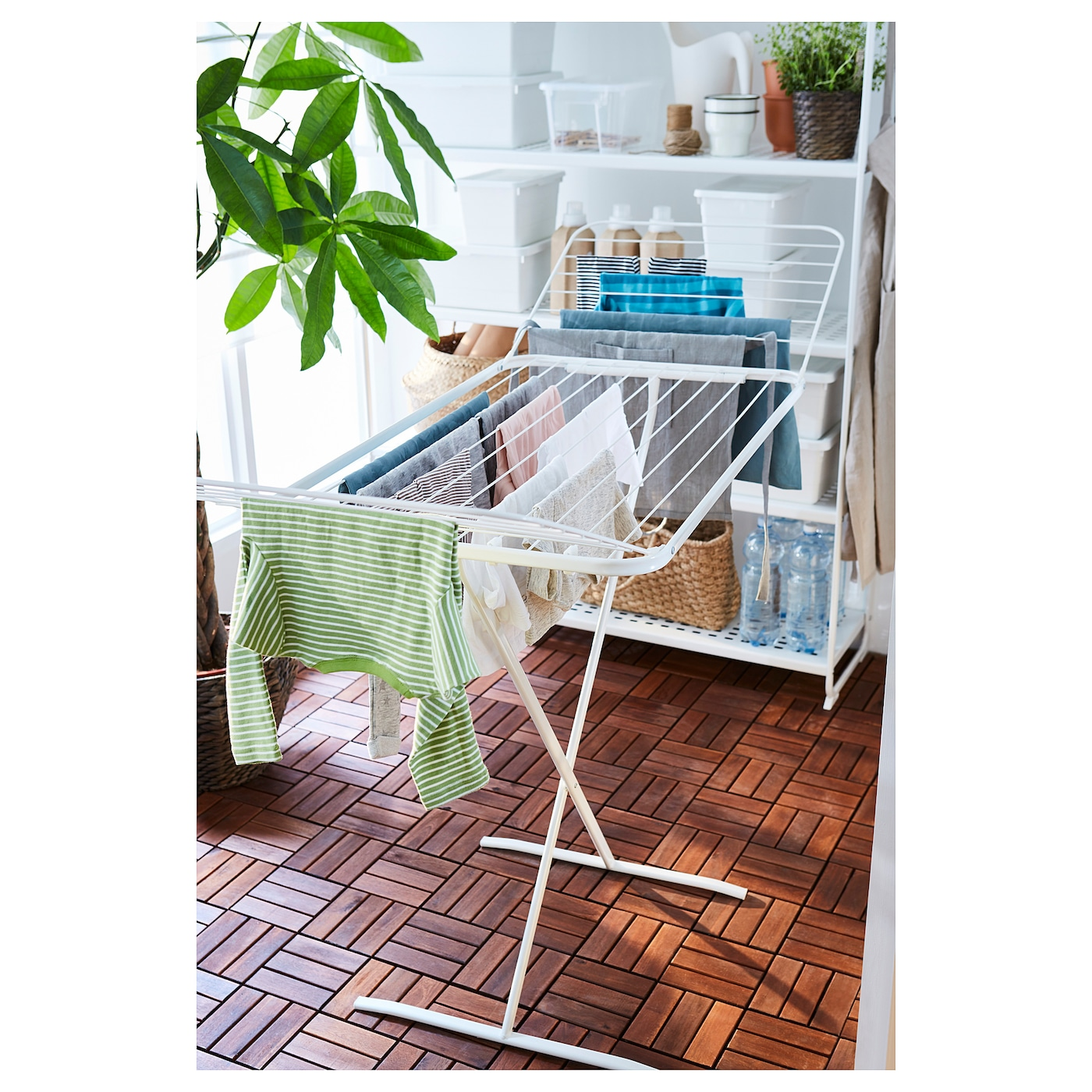 Ikea Mulig Drying Rack In Outdoor Suitable For Both Indoor And Use