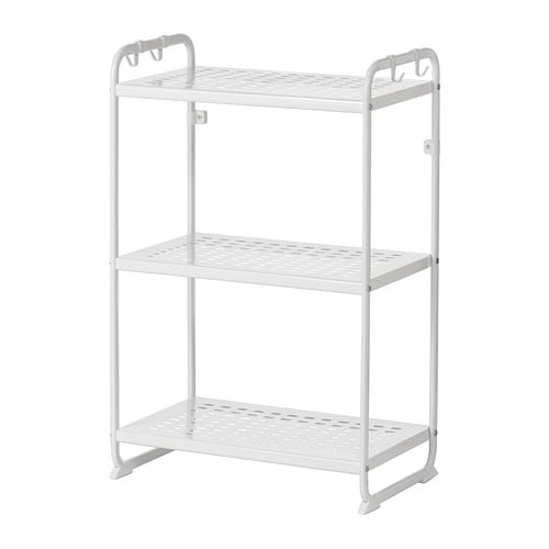 mulig shelving unit white 58x34x90 cm ikea. Black Bedroom Furniture Sets. Home Design Ideas