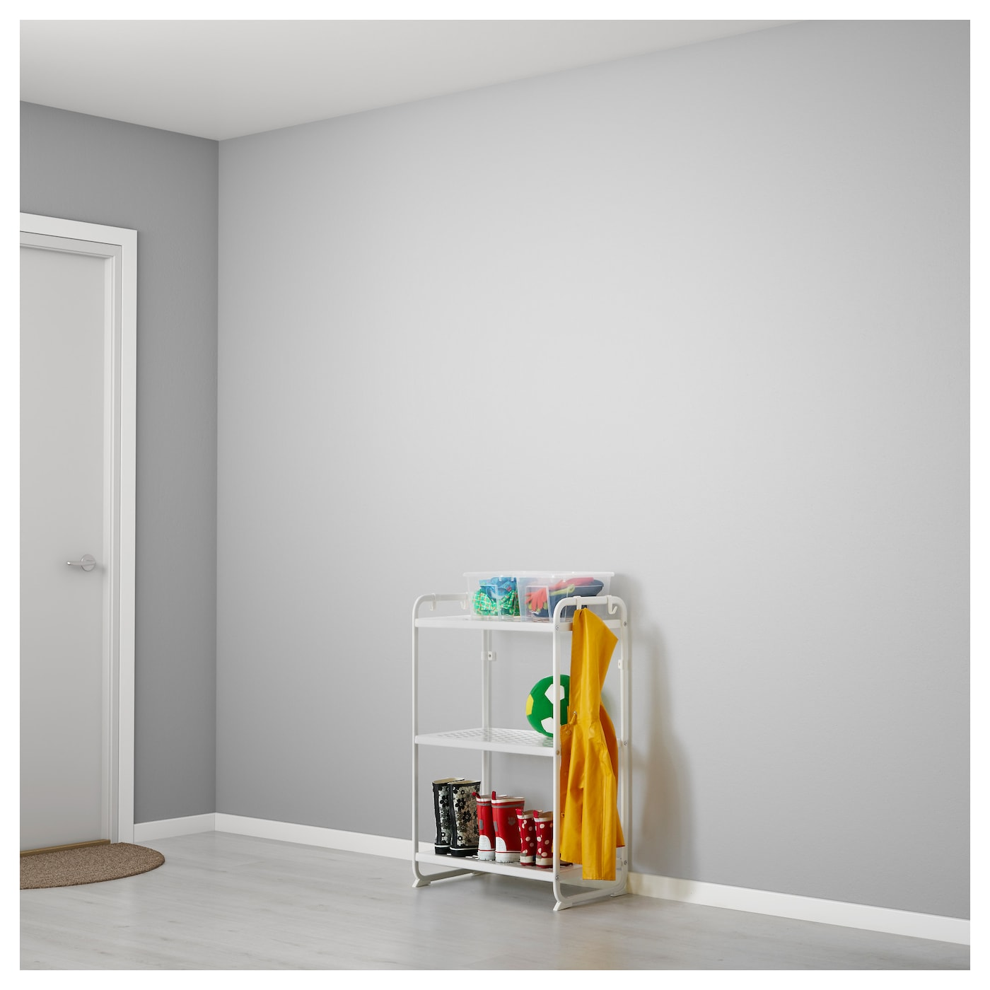 Shelving units for bathrooms - Ikea Mulig Shelving Unit Can Also Be Used In Bathrooms And Other Damp Areas Indoors