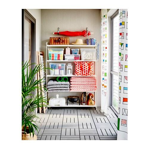MULIG Shelving unit White 120 x 34 x 162 cm - IKEA