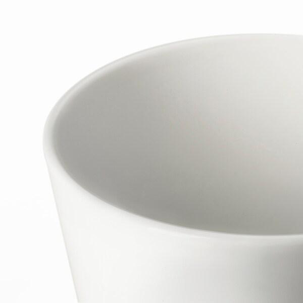 MUSKOT Plant pot, white, 9 cm