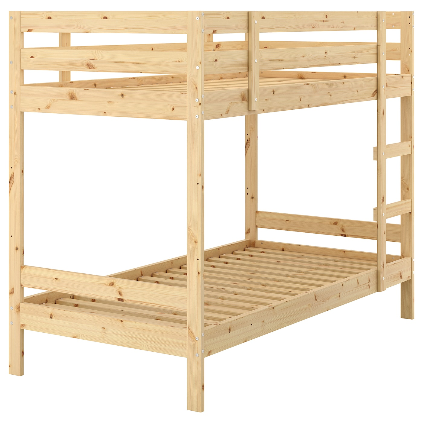 IKEA MYDAL Bunk Bed Frame Made Of Solid Wood Which Is A Hardwearing And Warm