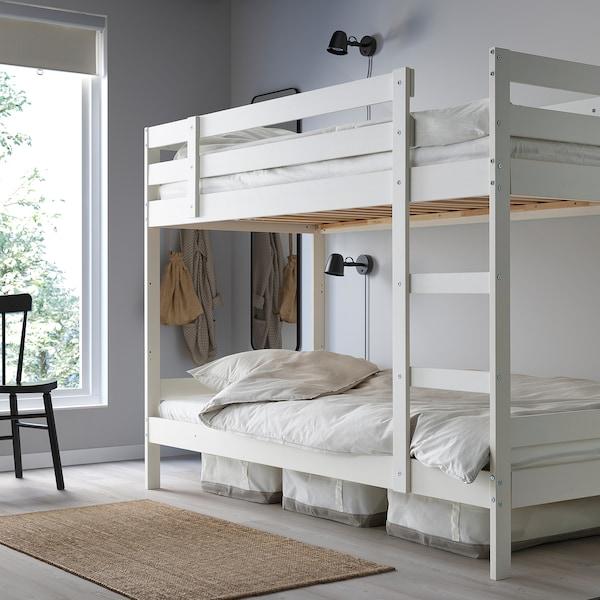 Mydal White Bunk Bed Frame 90x200 Cm Ikea