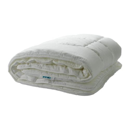 MYSA LJUNG Quilt, 7.5 TOG IKEA A medium thick cellulose and synthetic quilt for you who are neither too warm or too cold at night.