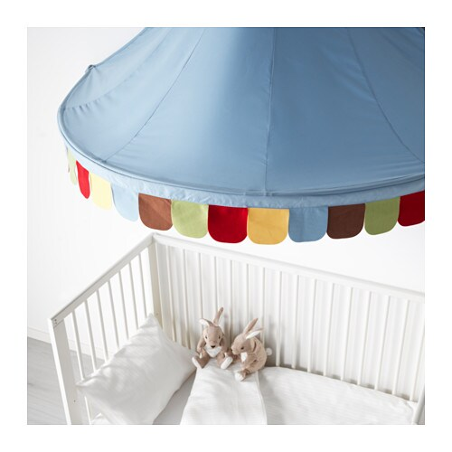 IKEA MYSIG bed canopy A bed canopy gives privacy and creates a room-in-room feeling.