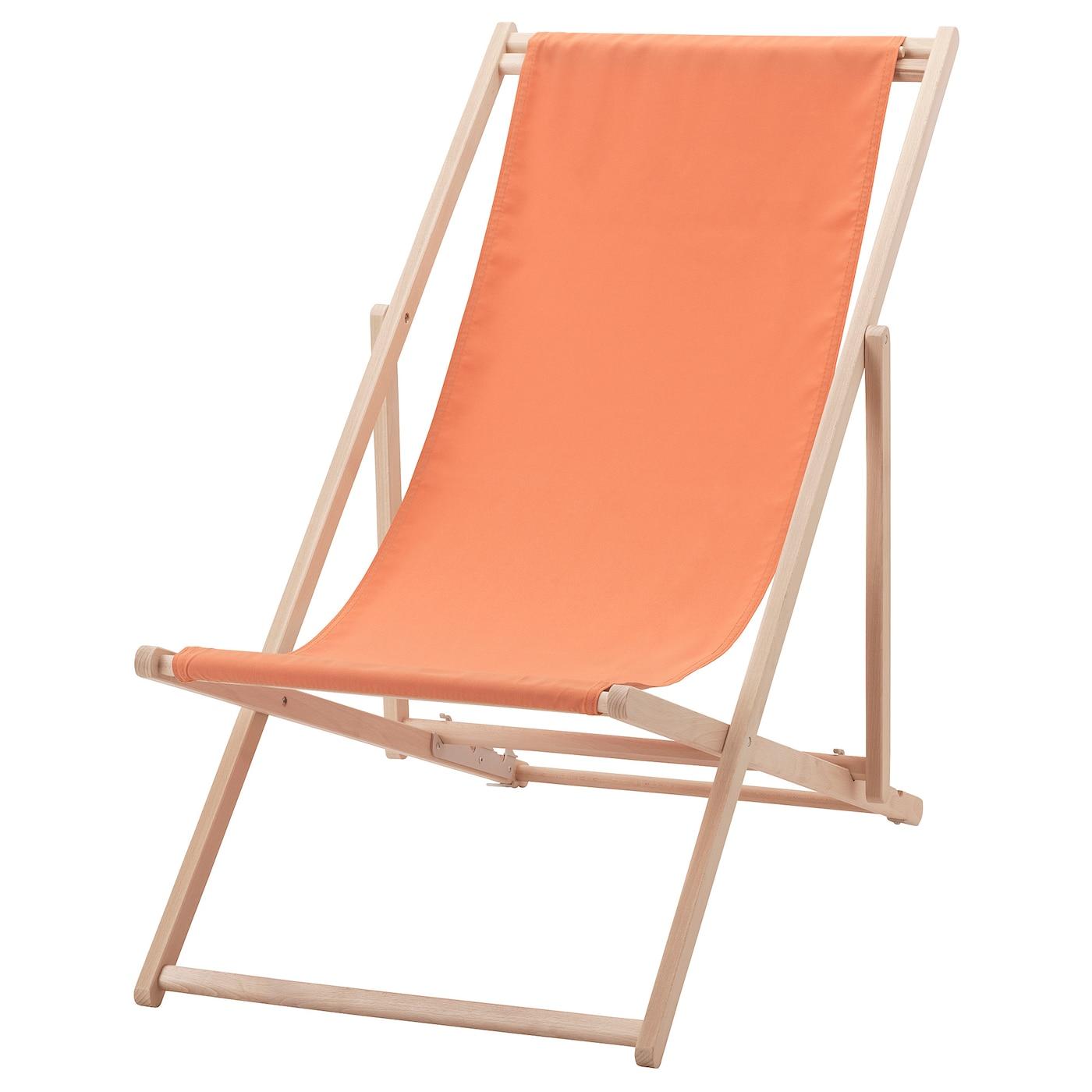 Mysings 214 Beach Chair Pale Orange Ikea