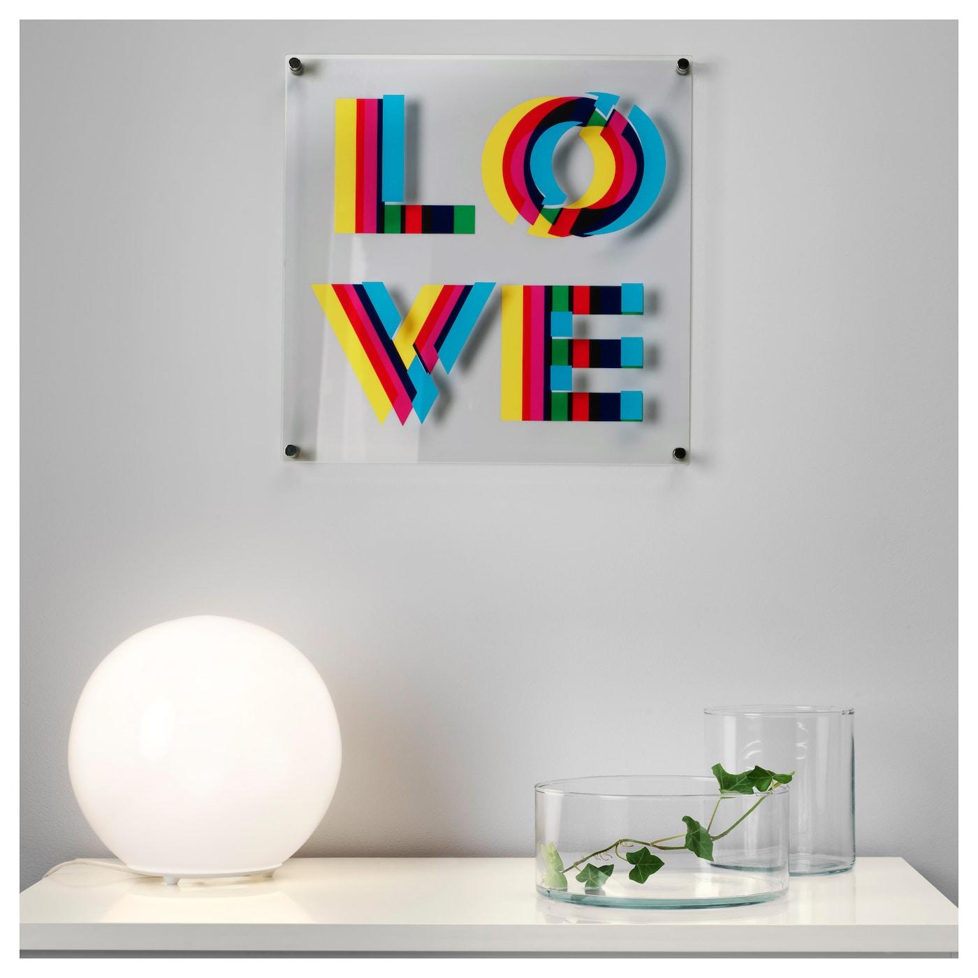 myttinge picture love 40x40 cm ikea. Black Bedroom Furniture Sets. Home Design Ideas
