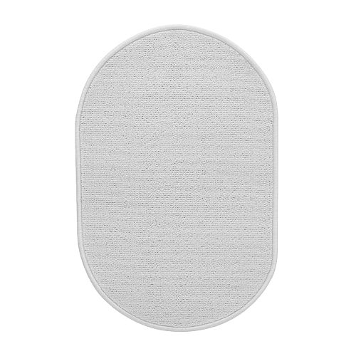 IKEA NÄCKTEN bath mat The mat stays firmly in place since it has a latex backing.
