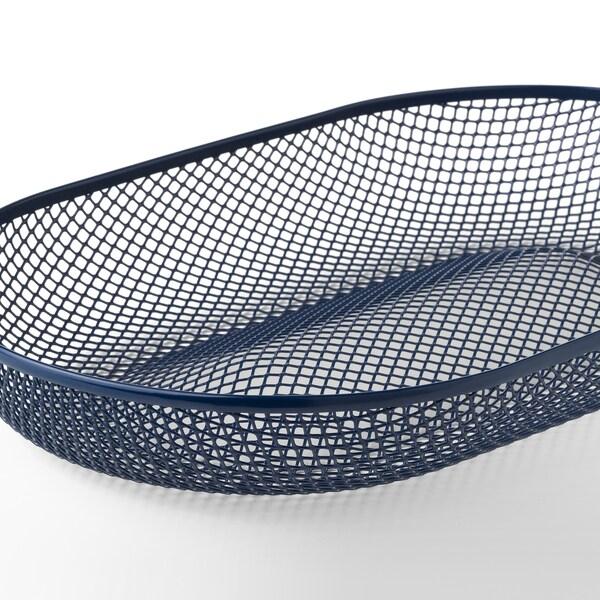 NÄTVERK Serving basket, blue