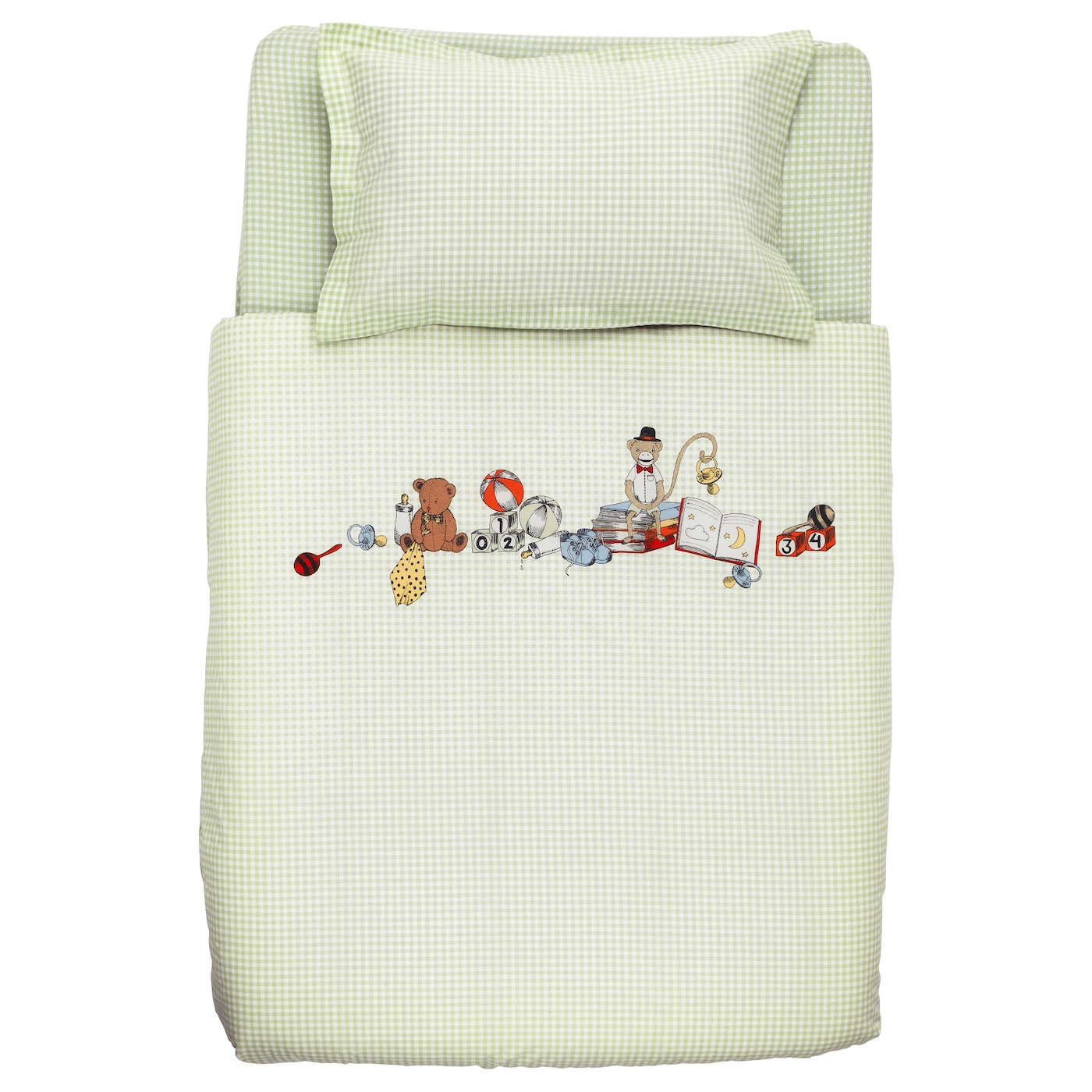 IKEA NANIG 3-piece bedlinen set for cot