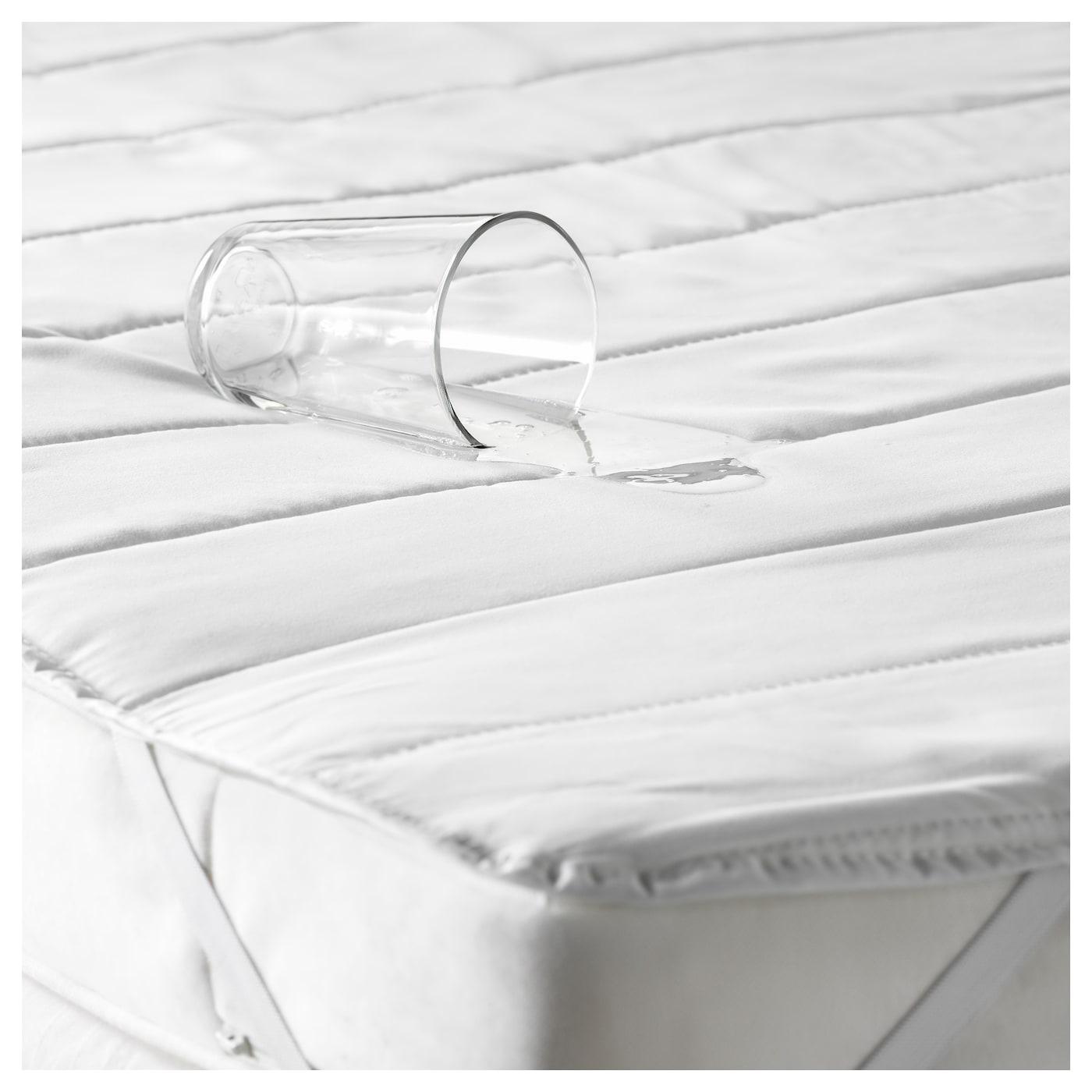 ikea nattlig waterproof mattress protector the waterproof inner layer protects the mattress