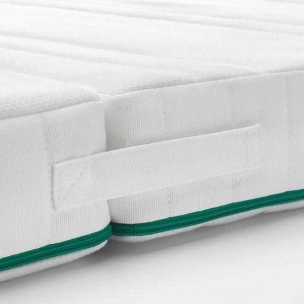 NATTSMYG foam mattress for extendable bed 165 cm 130 cm 200 cm 80 cm 10 cm