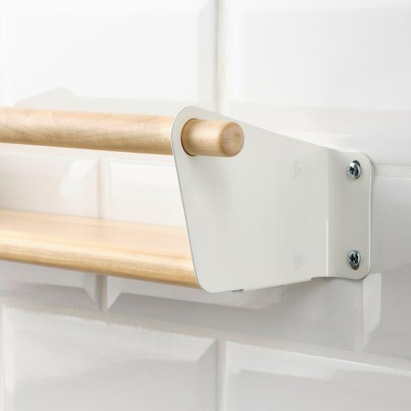 NEREBY Wall shelf, birch, 40x10 cm