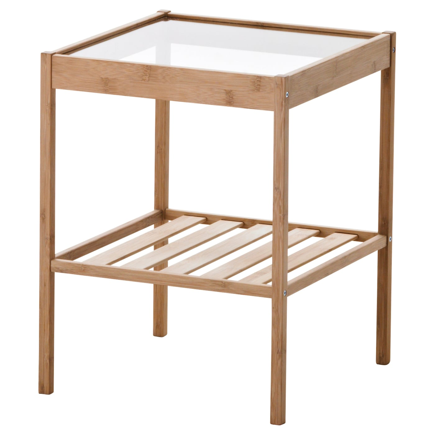 Nesna bedside table 36x35 cm ikea for Table th collapse