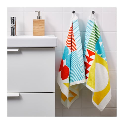 IKEA NIMMERN hand towel A terry towel that is soft and absorbent (weight 380 g/m²).