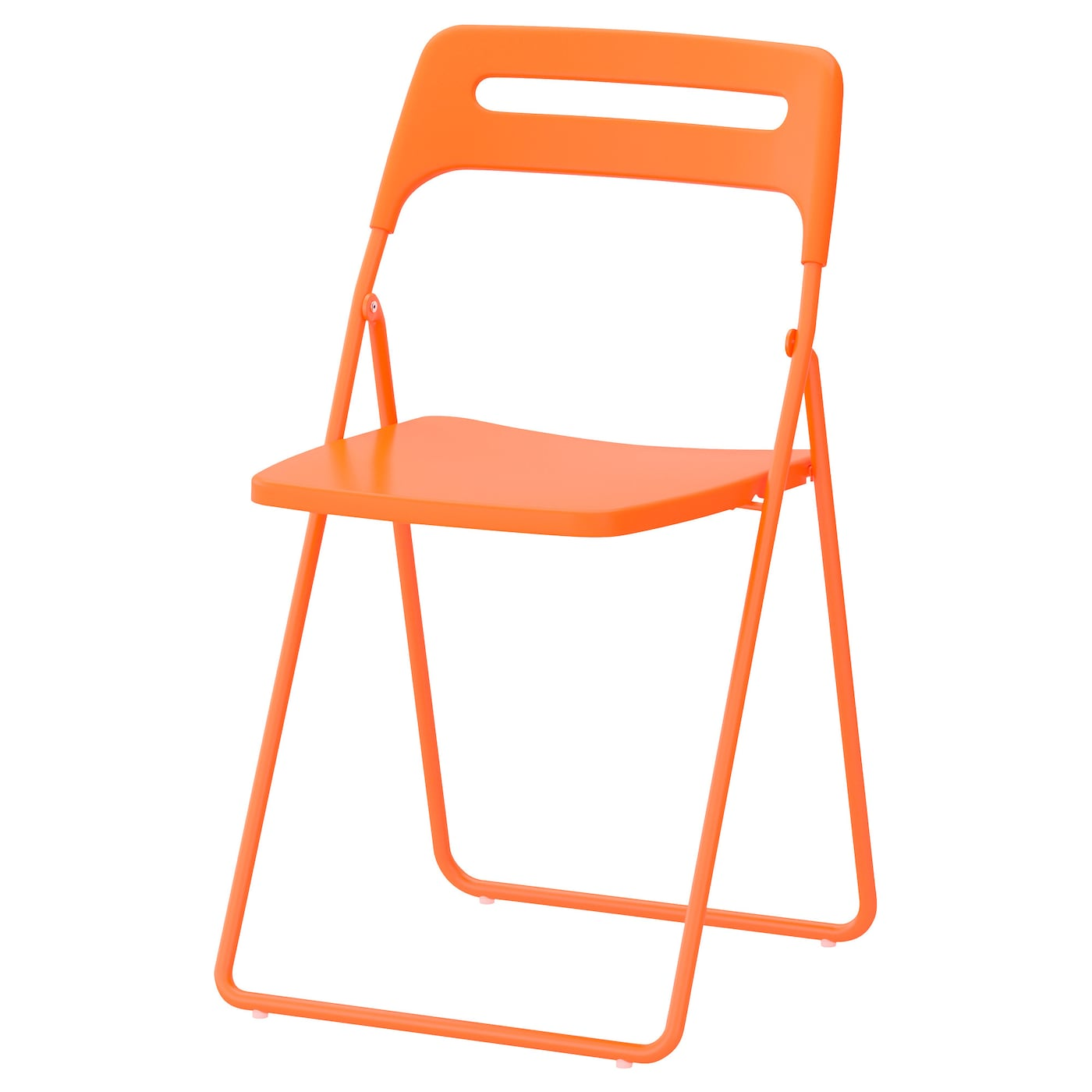 Nisse folding chair orange ikea for Ikea folding stool