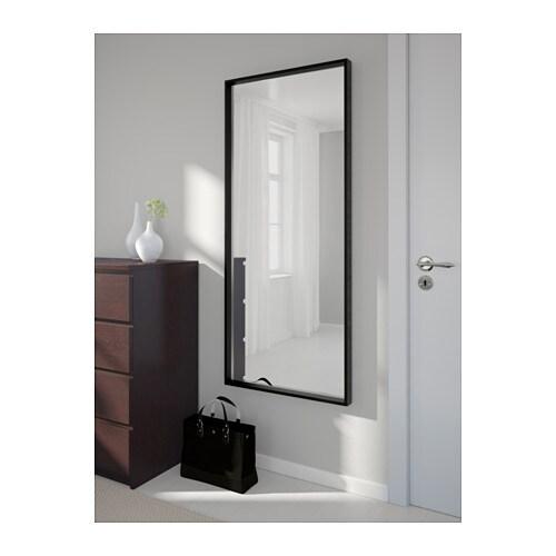 Nissedal mirror black 65x150 cm ikea for Mirror 80 x 50