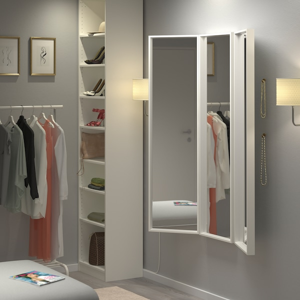 Nissedal White Mirror Combination