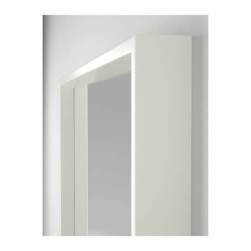 Nissedal mirror white 65x150 cm ikea for Barhocker klappbar ikea