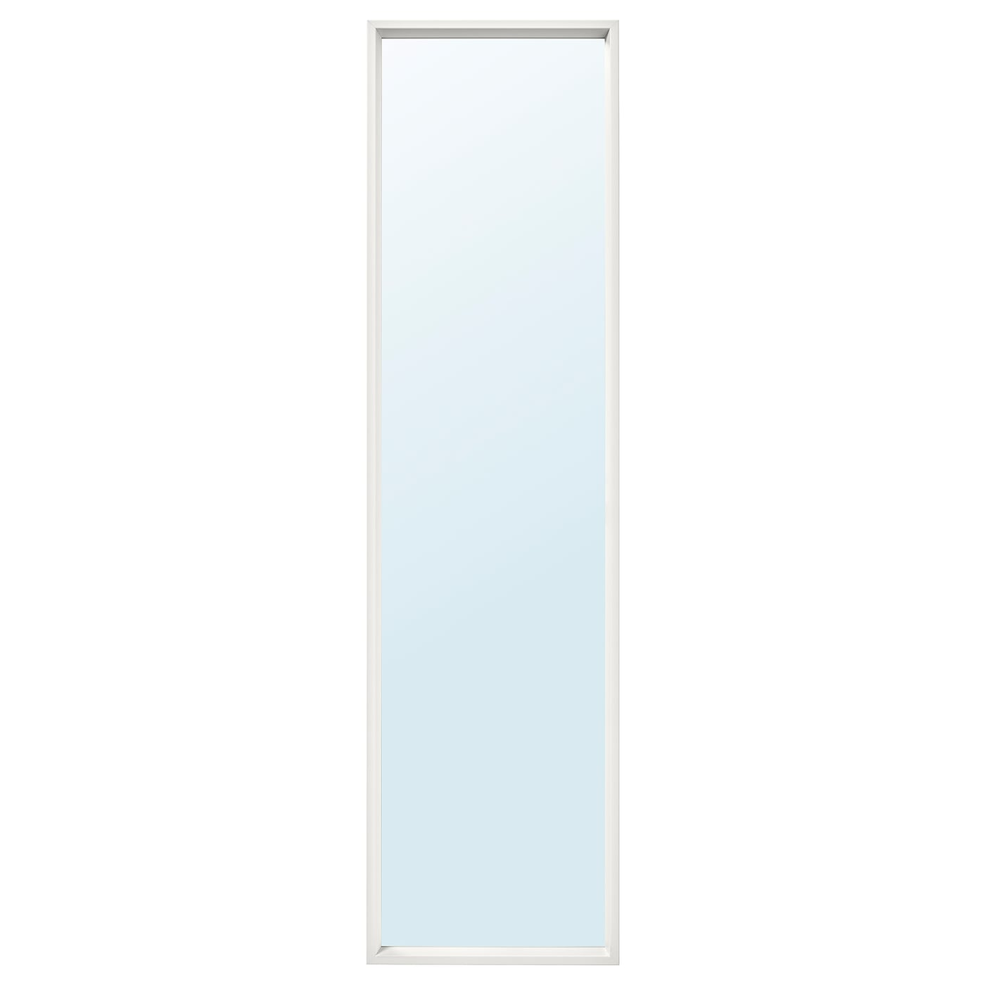 IKEA NISSEDAL mirror Can be hung horizontally or vertically.