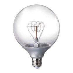 LED Bulbs & LED Light Bulbs | IKEA:IKEA NITTIO LED bulb E27 20 lumen Gives a nice decorative light.,Lighting