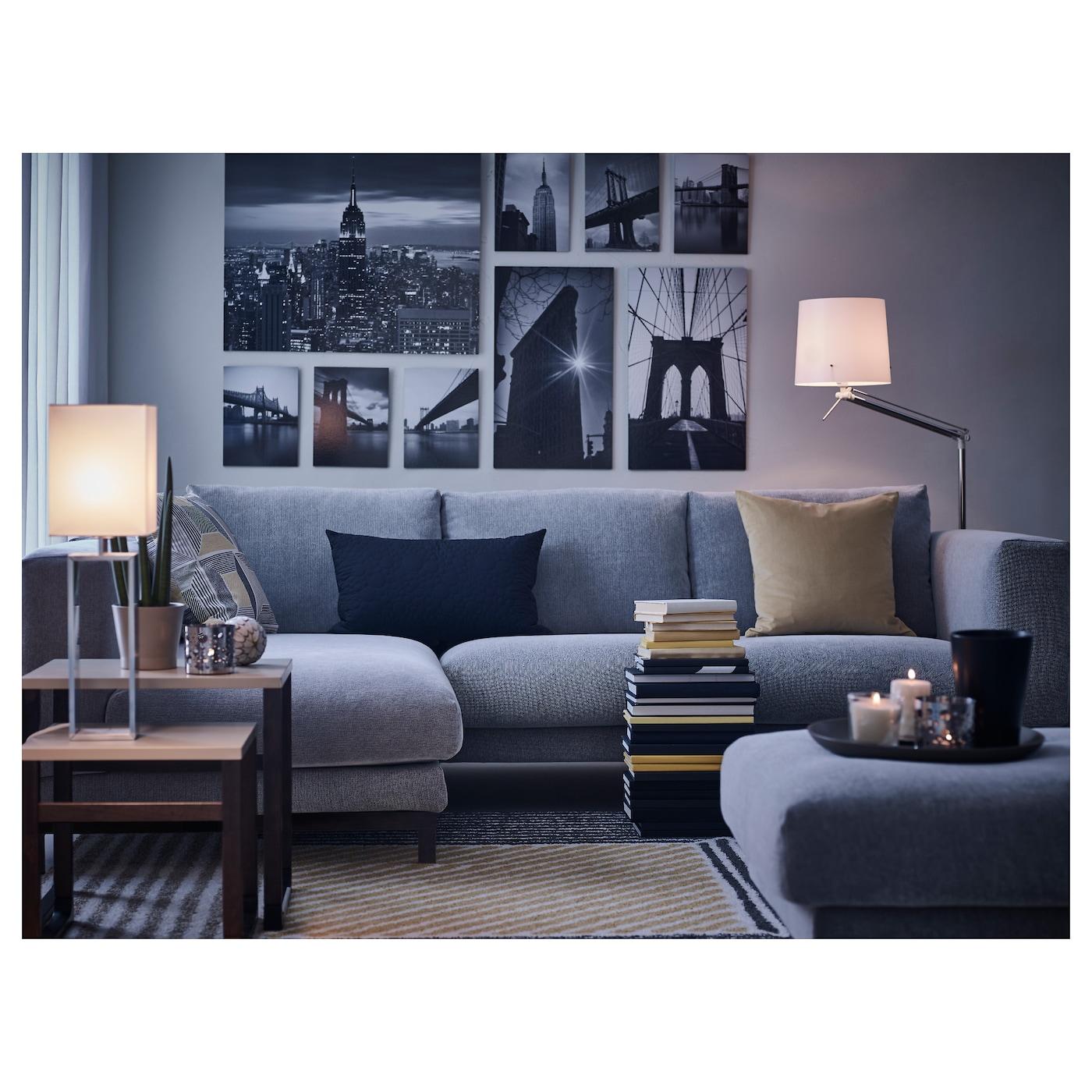 Nockeby 3 Seat Sofa With Chaise Longue Left Tallmyra