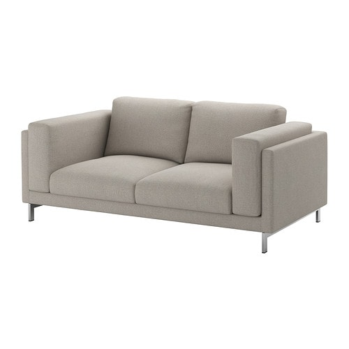 IKEA NOCKEBY cover two-seat sofa