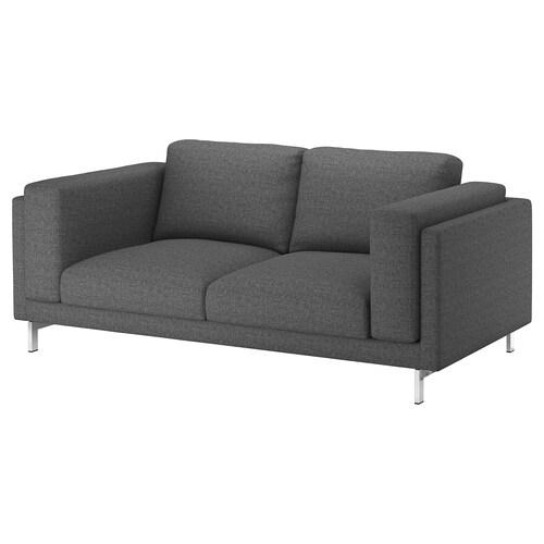 IKEA NOCKEBY Cover two-seat sofa