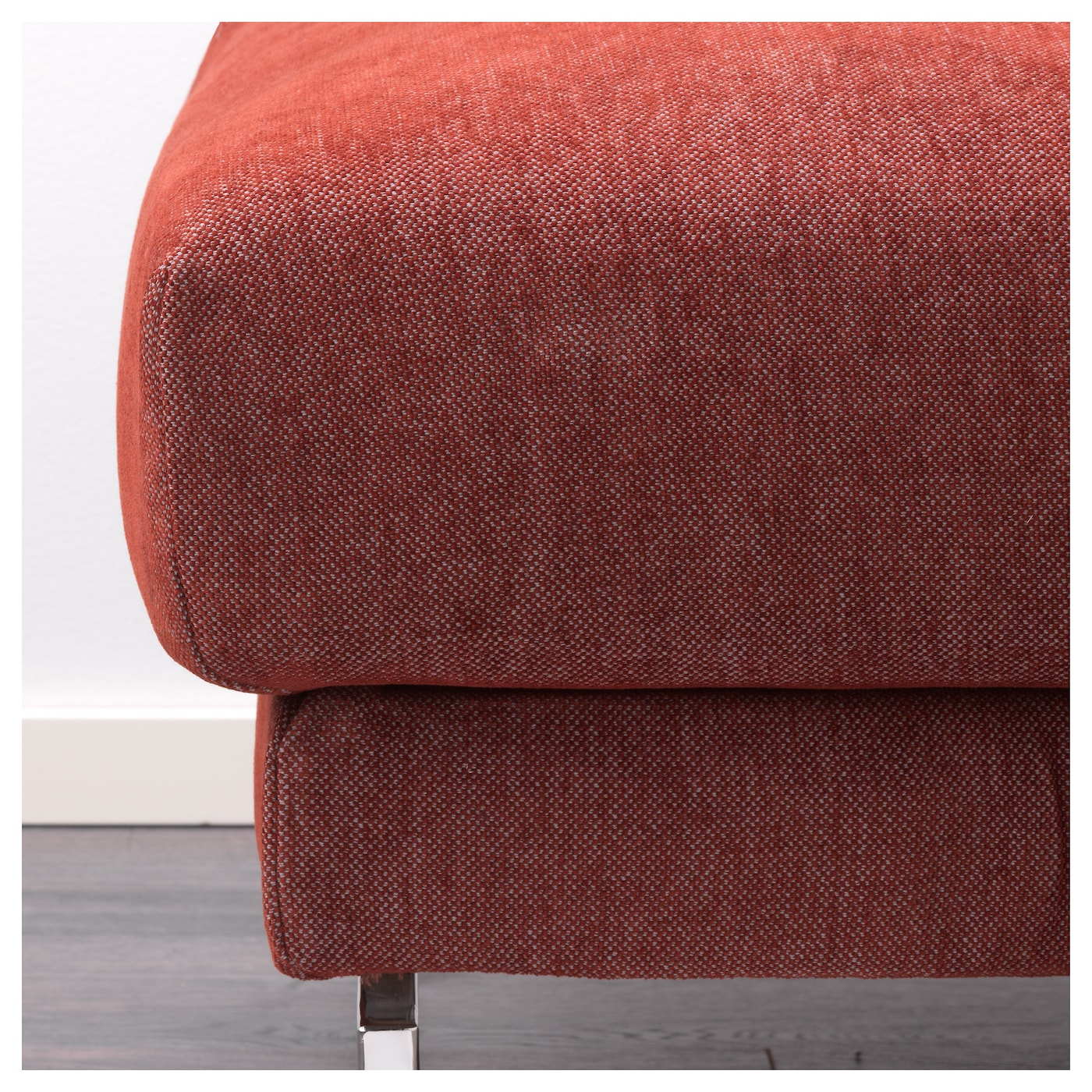 IKEA NOCKEBY footstool The cover is easy to keep clean as it is removable and can be machine washed.