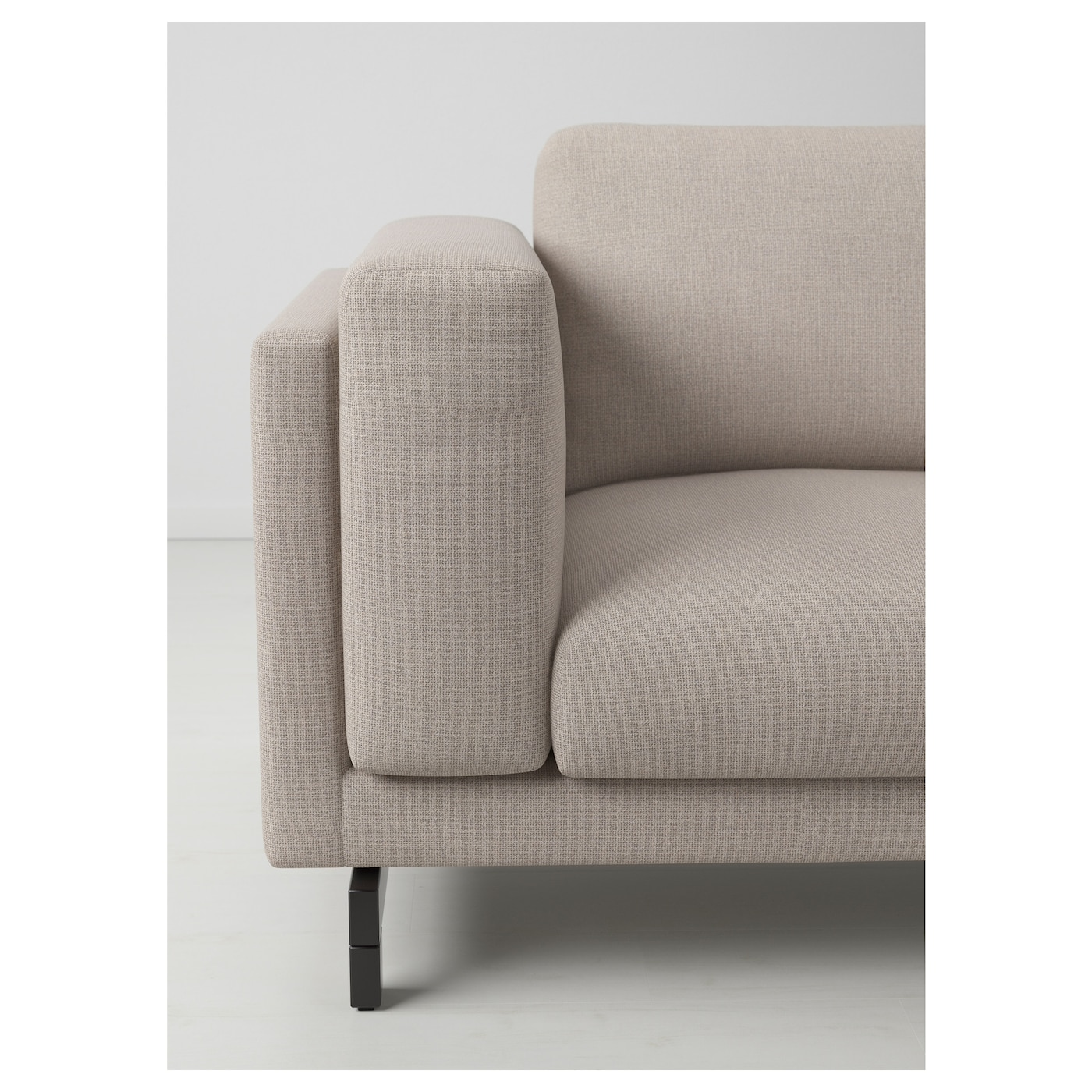 IKEA NOCKEBY legs for 3-seat sofa