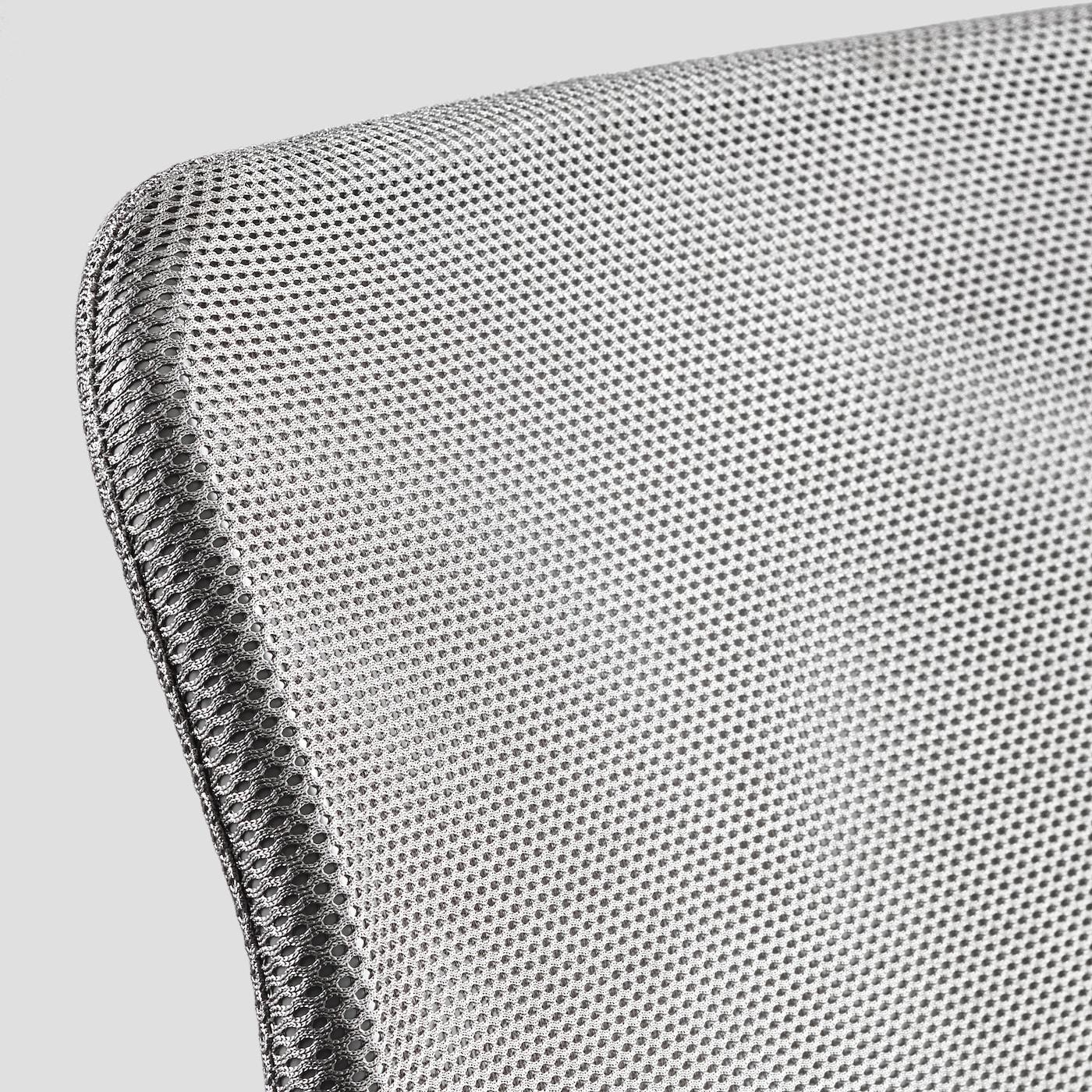 NOLMYRA Easy chair birch veneer, grey