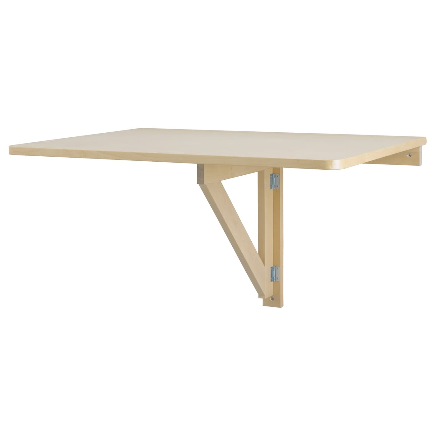 Ikea Norbo Wall Mounted Drop Leaf Table Solid Wood Is A Hardwearing Natural Material