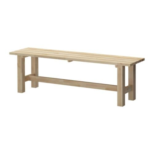 NORDEN Bench IKEA Solid wood, a hardwearing natural material.