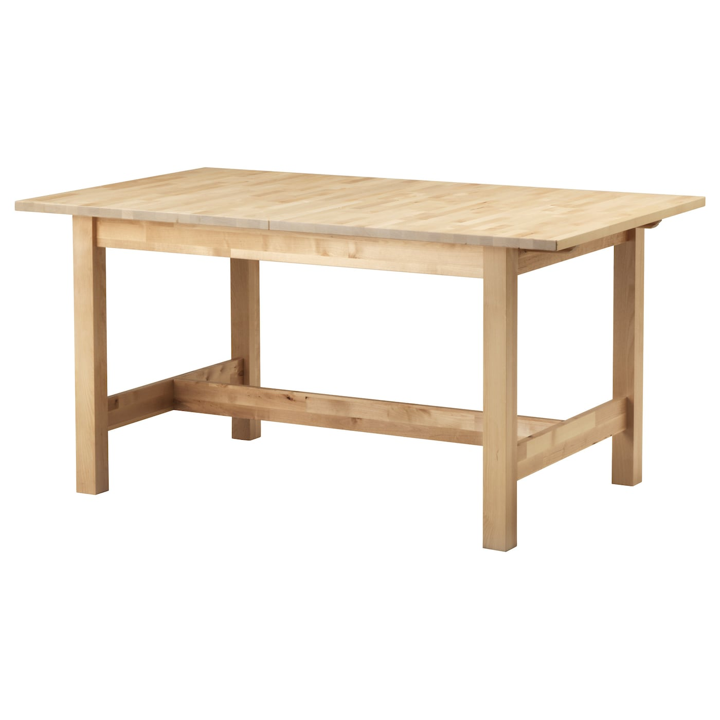 NORDEN Extendable table Birch 155/210x90 cm - IKEA