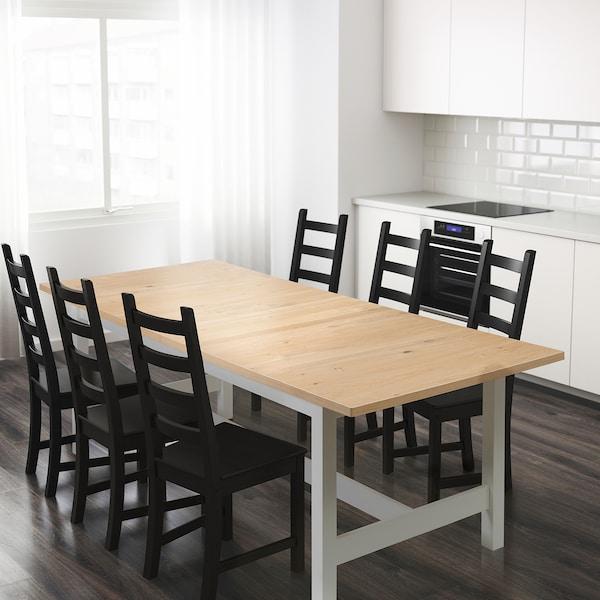 NORDEN Extendable table, oak, 241/303x100 cm