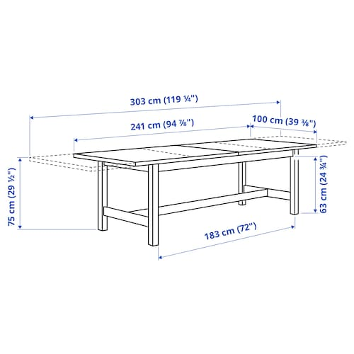 IKEA Norden 12068 Extendable Table