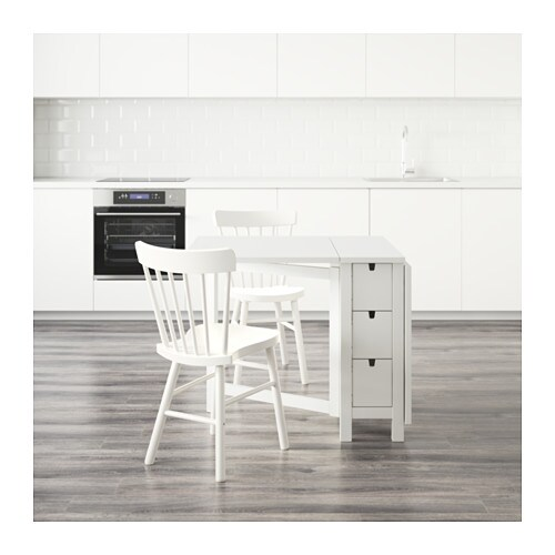 bänk ikea norden ~ nordennorraryd table and 2 chairs whitewhite 89 cm  ikea