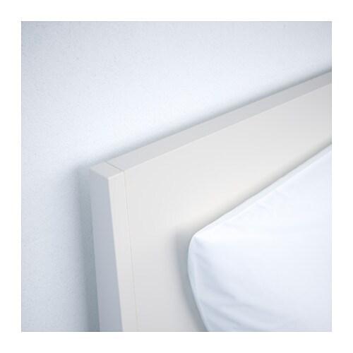 nordli bed frame white sultan lur y 160x200 cm ikea. Black Bedroom Furniture Sets. Home Design Ideas