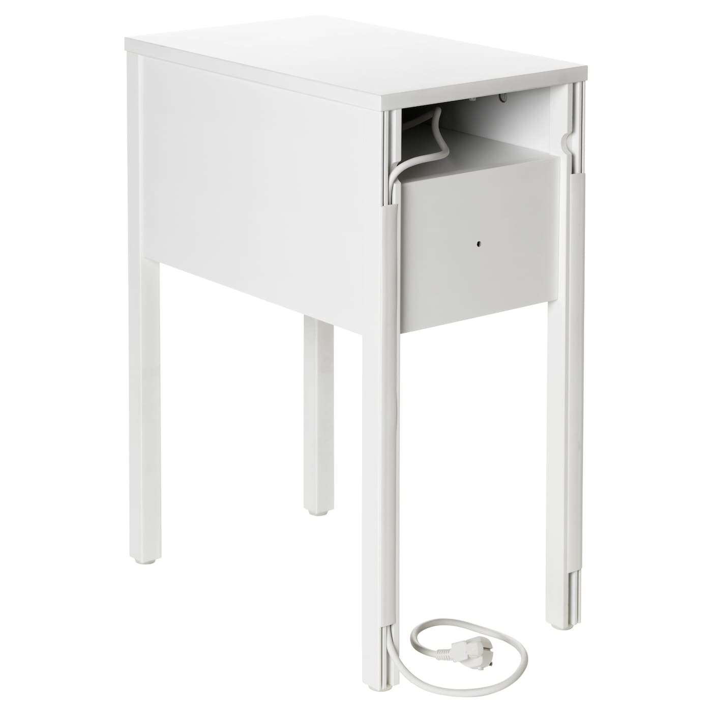 nordli bedside table white 30x50 cm ikea. Black Bedroom Furniture Sets. Home Design Ideas