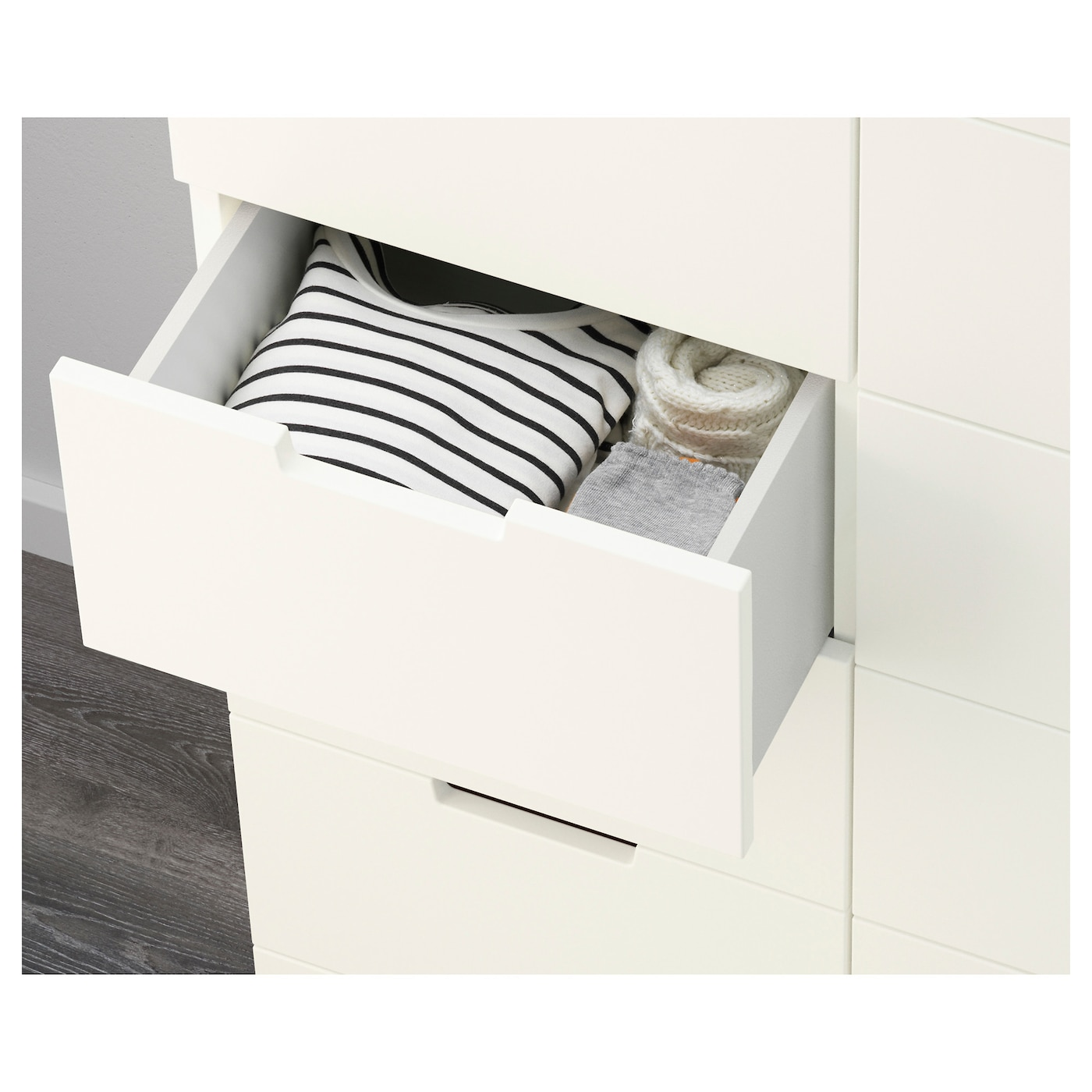 nordli chest of 12 drawers white 120x142 cm ikea. Black Bedroom Furniture Sets. Home Design Ideas