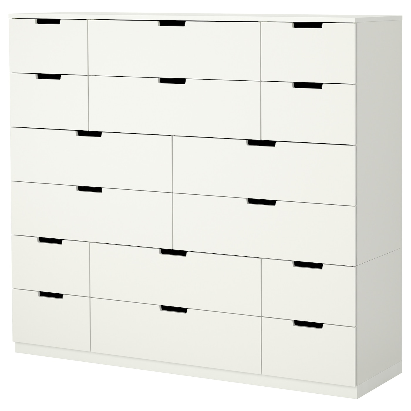 IKEA NORDLI chest of 16 drawers