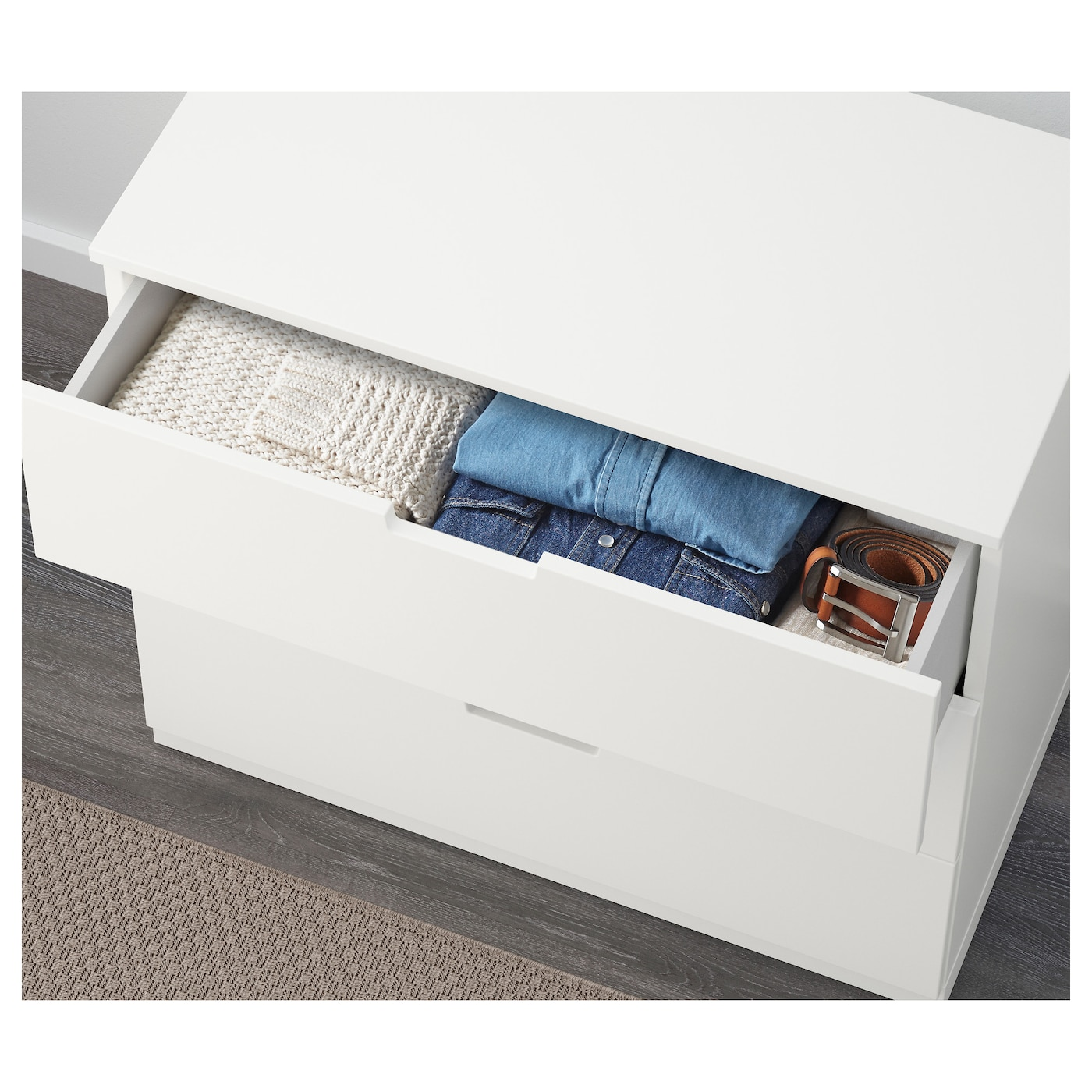 IKEA NORDLI chest of 3 drawers