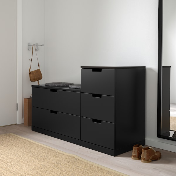 Chest of 5 drawers, 120x76 cm IKEA
