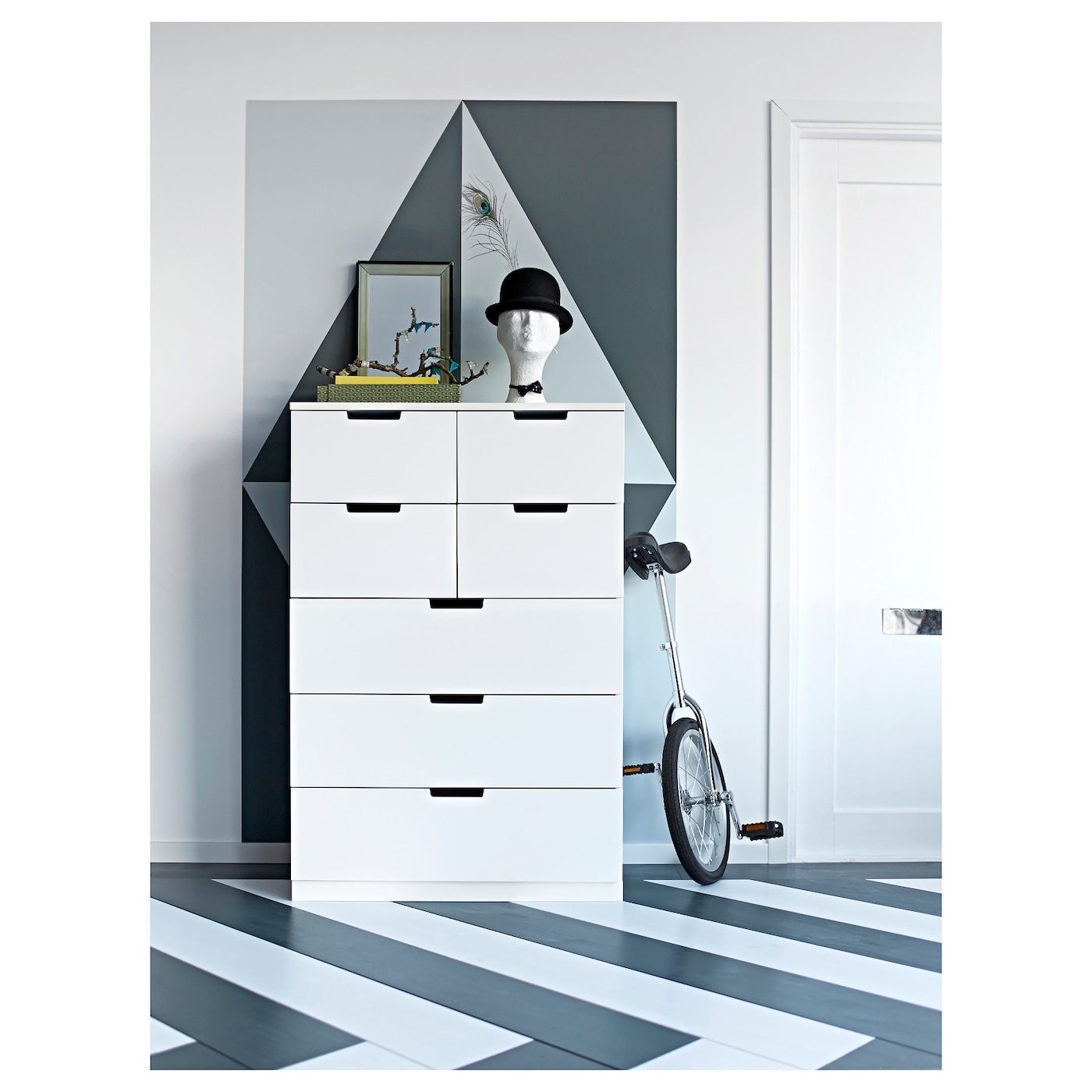 IKEA NORDLI chest of 7 drawers