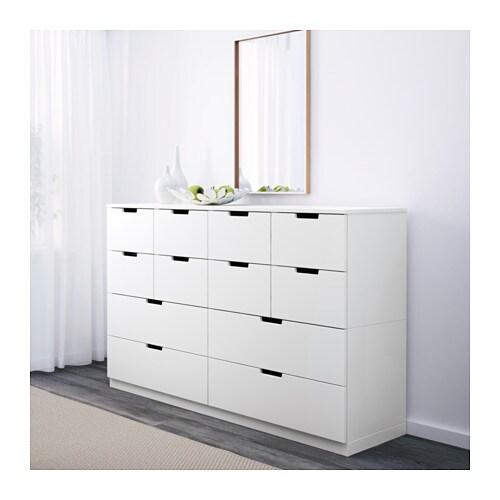 NORDLI Chest of drawers White 160×97 cm IKEA
