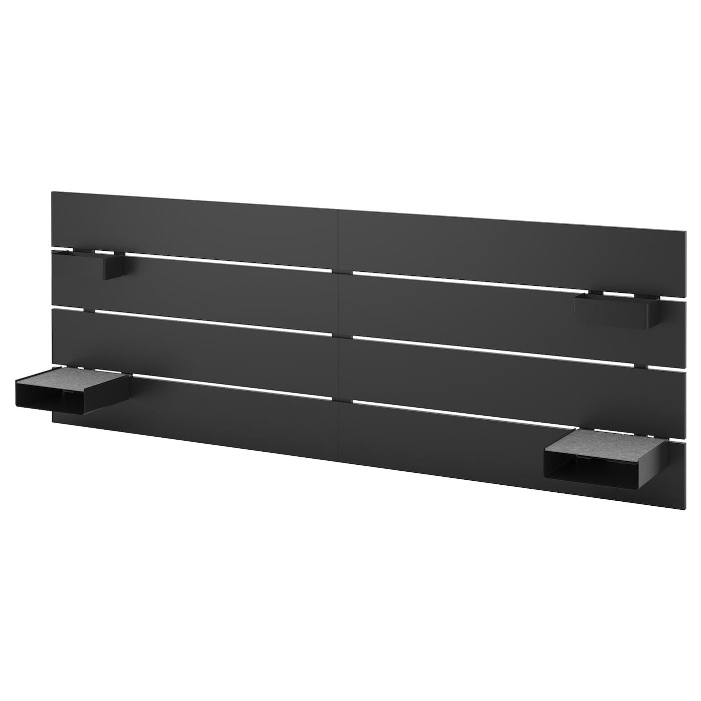 Nordli Headboard Anthracite 140 160 Cm Ikea