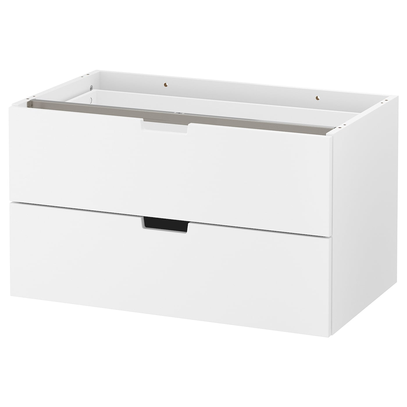 IKEA NORDLI modular chest of 2 drawers