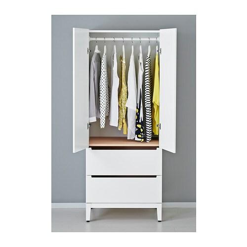 Ikea Flaxa Bed With Storage ~ IKEA NORDLI wardrobe Adjustable feet make it possible to compensate